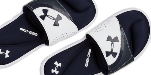 Under Armour Slides for the Family from $16.80 (Regularly $28+)