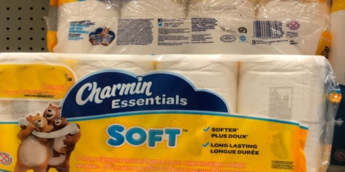Charmin Essentials Giant Toilet Paper Rolls 12-Pack Only $5.59 on OfficeDepot.com