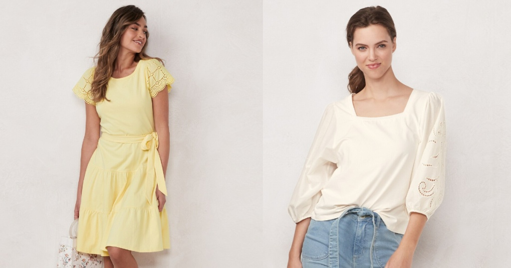 lauren conrad apparel dress and top