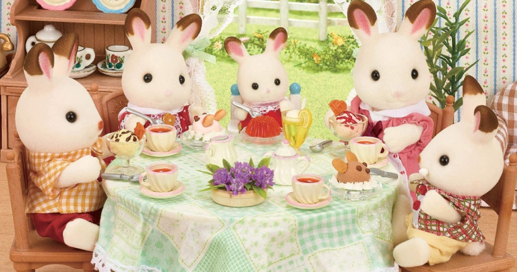 calico critters rabbit family