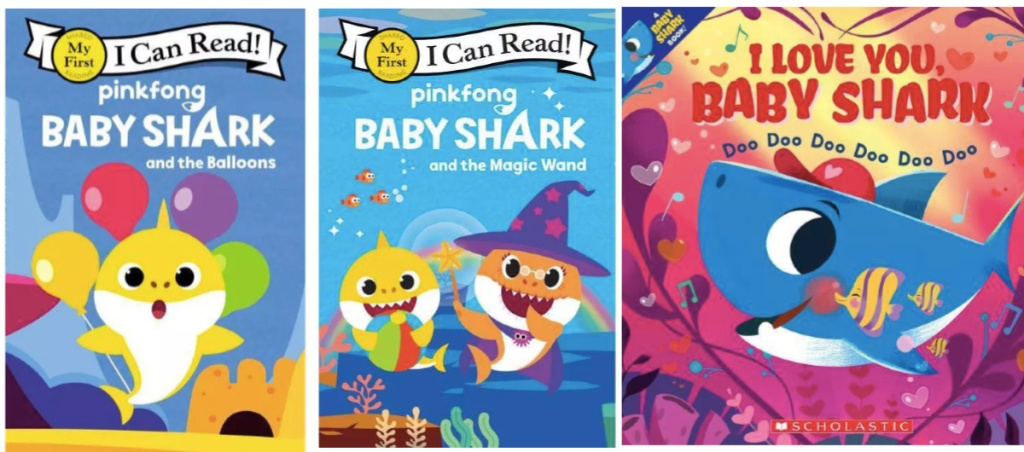 baby shark books at target