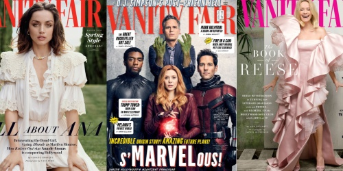 Complimentary 1-Year Vanity Fair Magazine Subscription | No Credit Card Needed