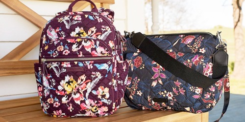 Vera Bradley Bags & Backpacks from $21 Shipped (Regularly $50+)