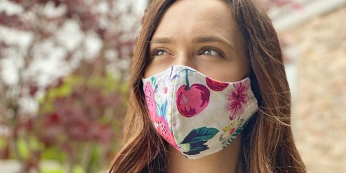 Vera Bradley Non-Medical Face Masks Only $8 | New Patterns Added