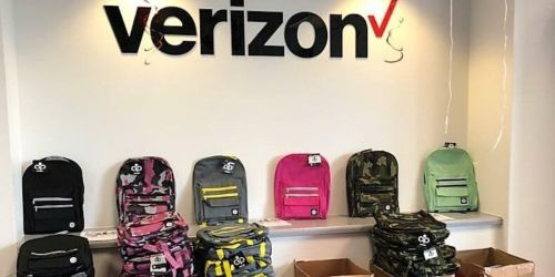 Free Backpack w/ School Supplies at Select Verizon Wireless Zone Stores | July 26th Only