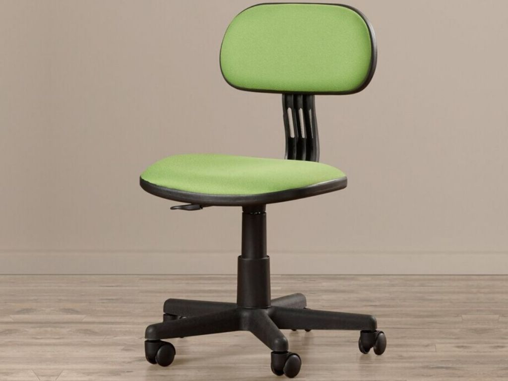 rolling desk chairs without arms