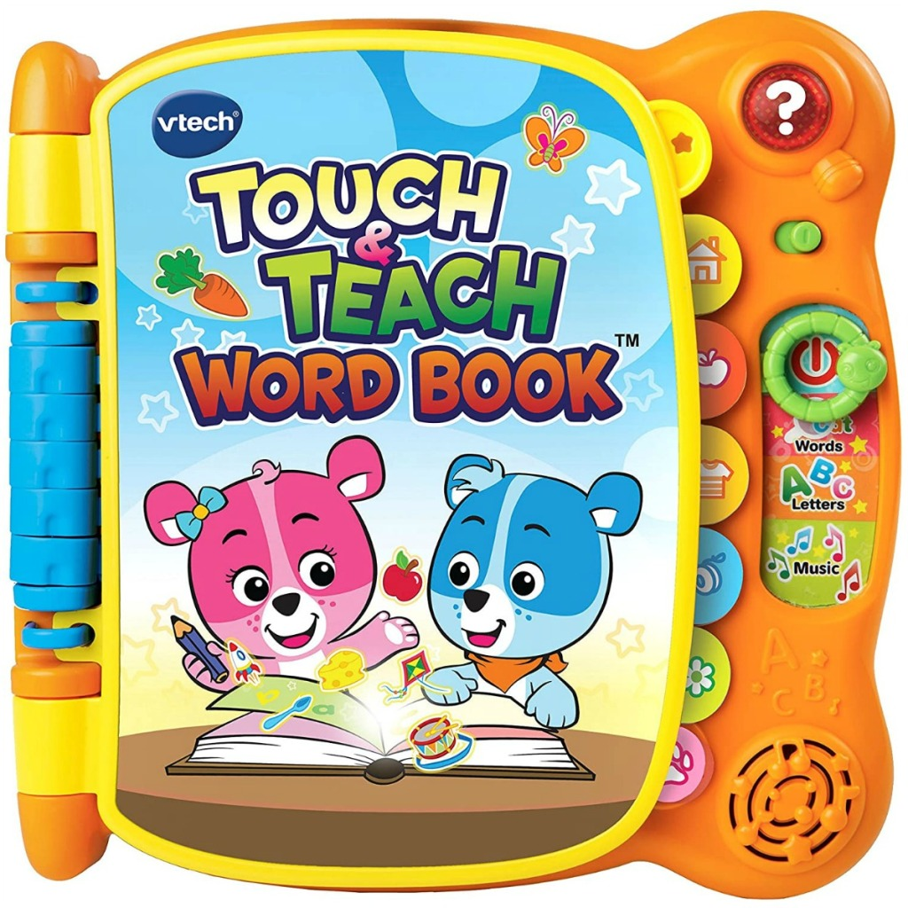 Vtech brand kids book with bears on the cover