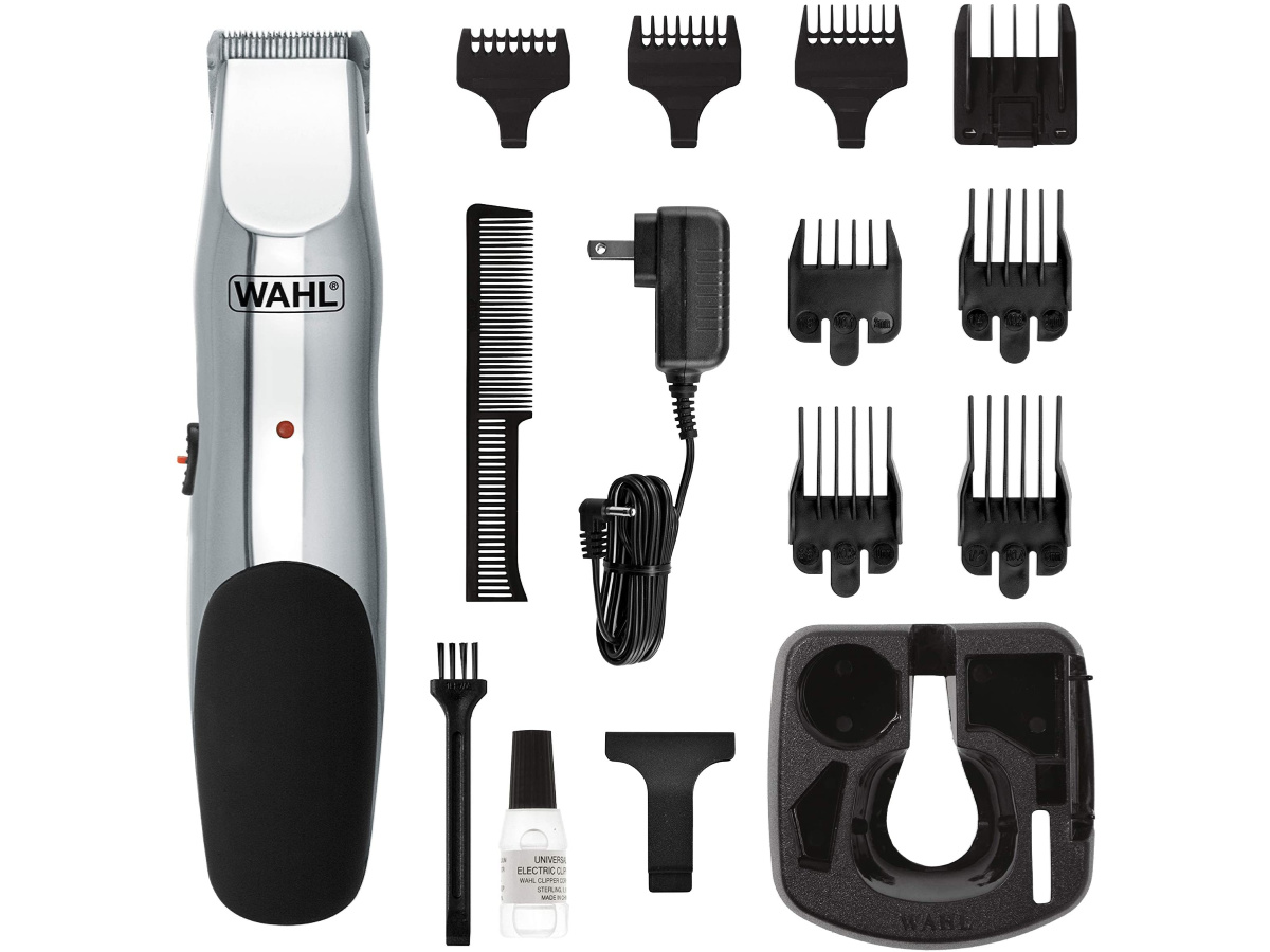 Wahl trimmer and multiple accessories