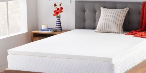 Memory Foam Mattress Toppers from $49.99 Shipped