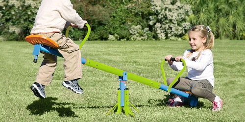 Up to 70% Off Outdoor Toys on Wayfair | Seesaw, Tents, Giant Dominos & More