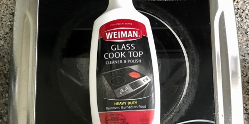 Weiman Glass Cook Top Cleaner & Polish Only $3.49 on Amazon (Regularly $6)