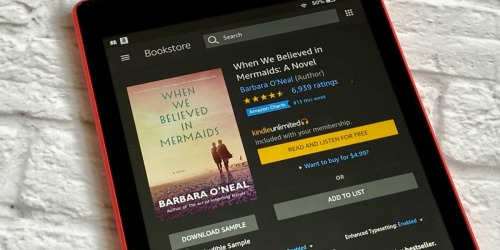 Read 10 Best-Selling Kindle Unlimited eBooks (+ Thousands More w/ This 50% Off Amazon Deal)