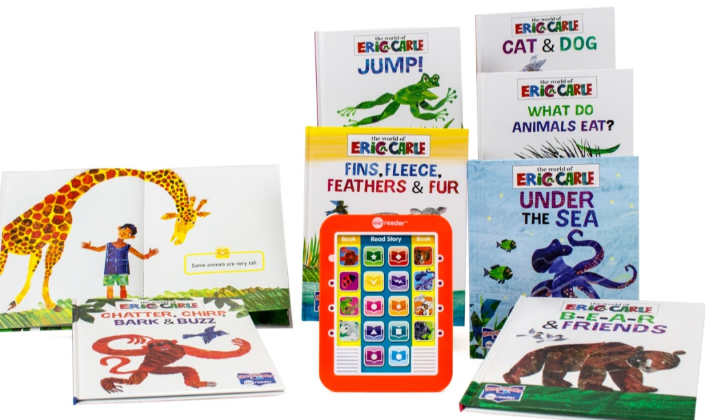 eric carle books and reader