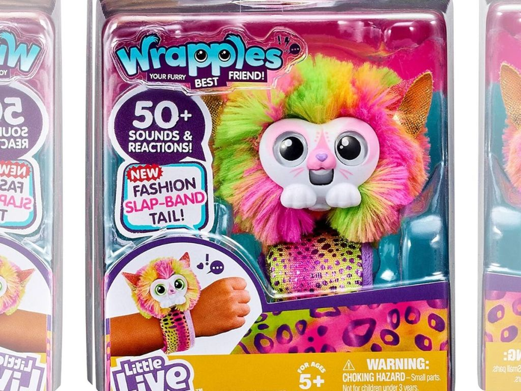 wrapples little live pet toy