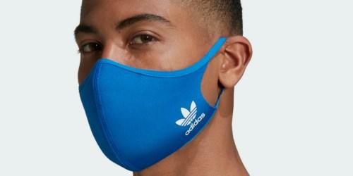 Adidas Non-Medical Reusable Face Masks 3-Pack Just $16 Shipped