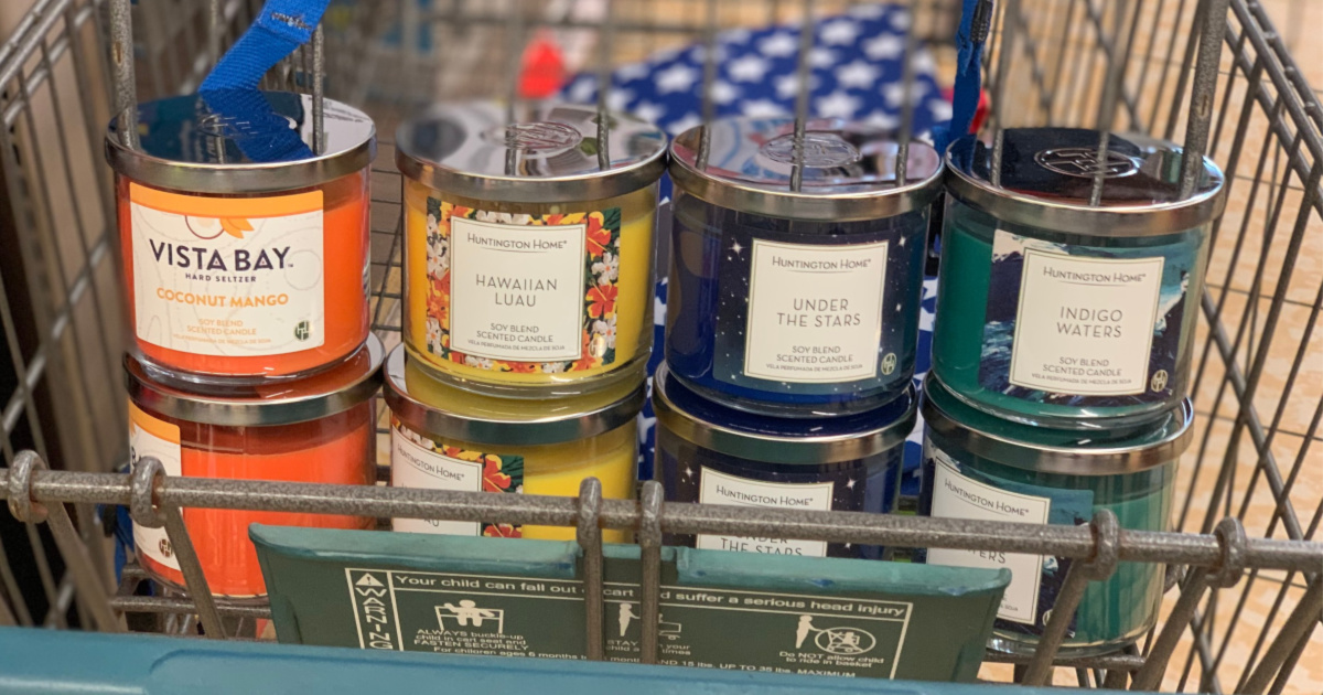 New Summer Scented 3 Wick Candles Available Now At Aldi Just 3 99 Each Hip2save