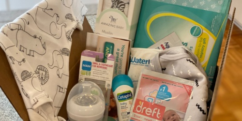 Expecting? Here's How to Score a FREE Amazon Baby Welcome Box ($35 Value!)