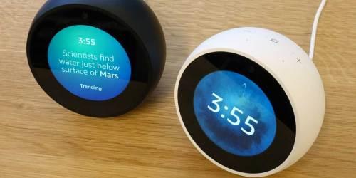 Echo Spot Smart Alarm Clock Just $49.99 on Woot! (Regularly $130)