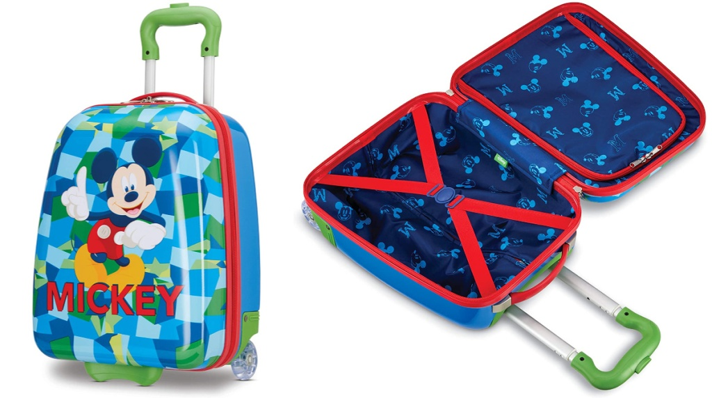 american tourister mickey mouse