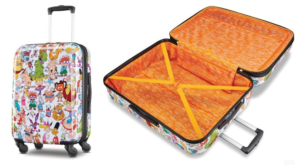 american tourister nickelodeon luggage