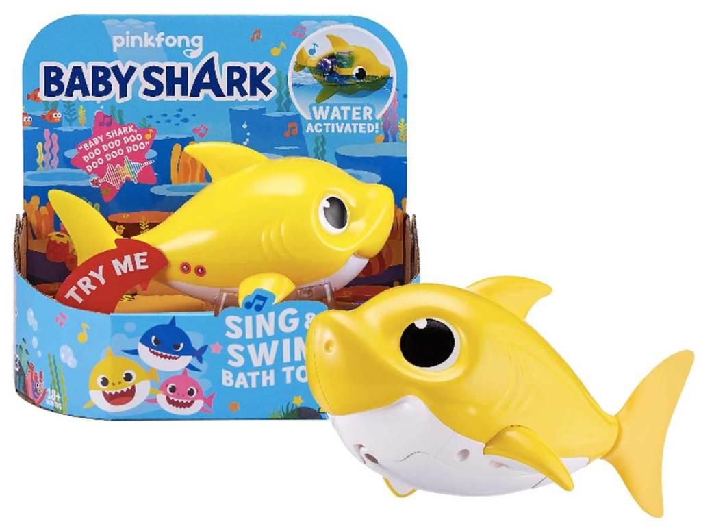 baby shark bath toy