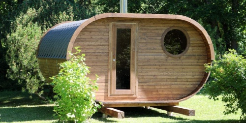 Turn Your Backyard Into an Oasis with These DIY Sauna Kits (+ Delivery is Free!)