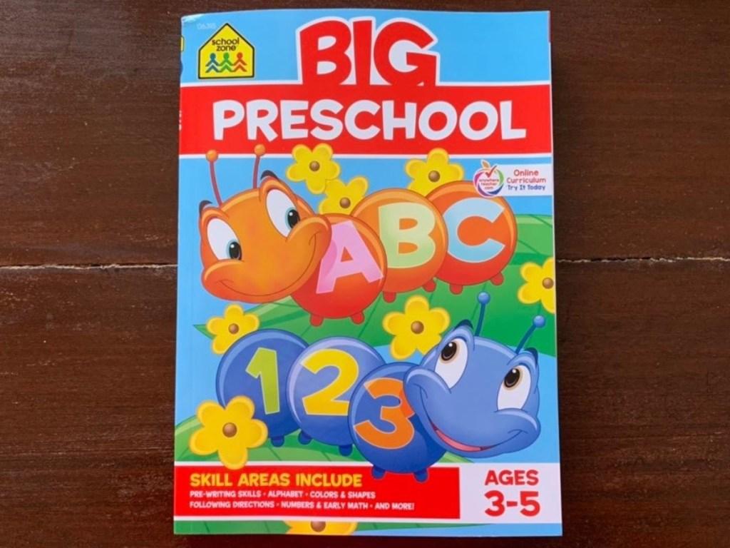 cover of Big Preschool Workbook