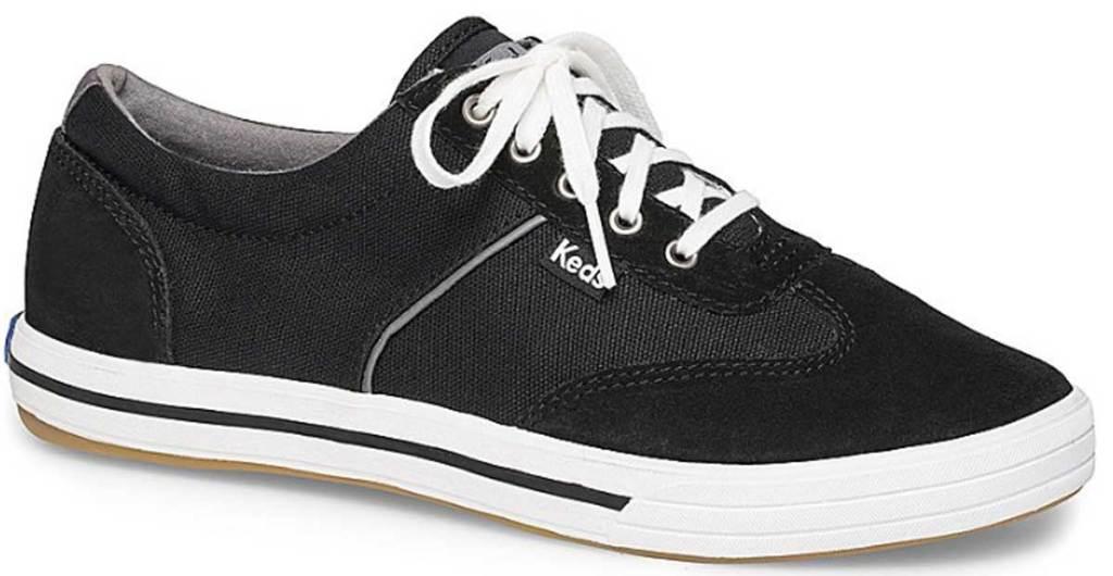 keds black shoes stock image