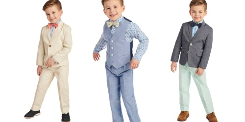 Nautica Boys Suit & Vest Sets from $9.67 on Macy's (Regularly $64.50+)