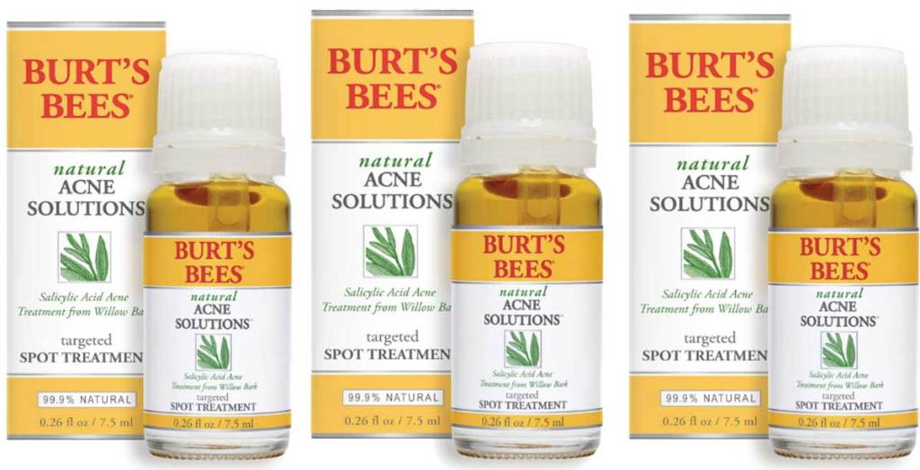burts bees acne solution