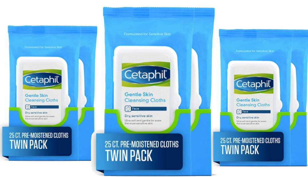cetaphil twin packs cloths