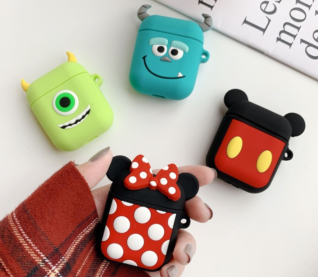 4 AirPod cases shaped like Disney characters