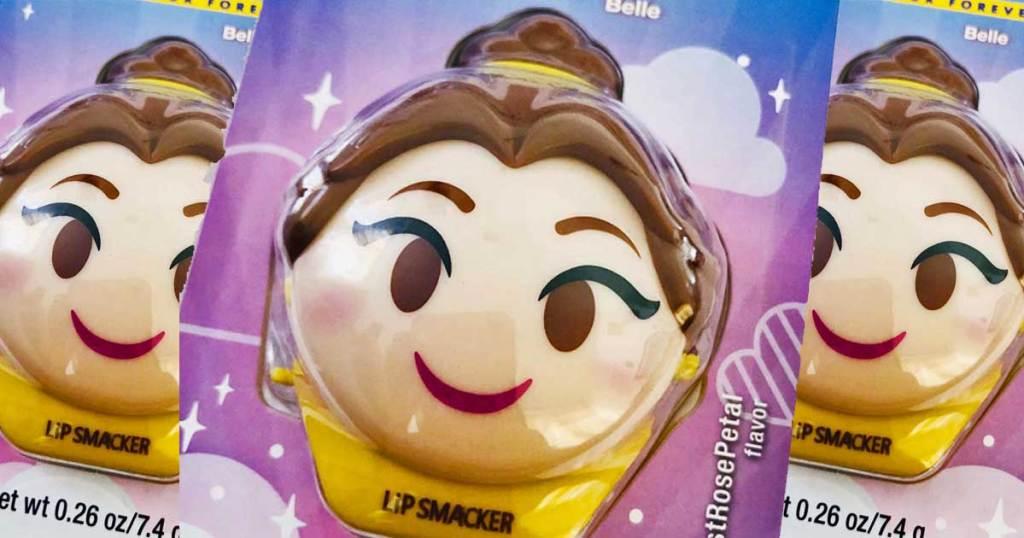 packs of lip smacker belle disney emoji lip balm