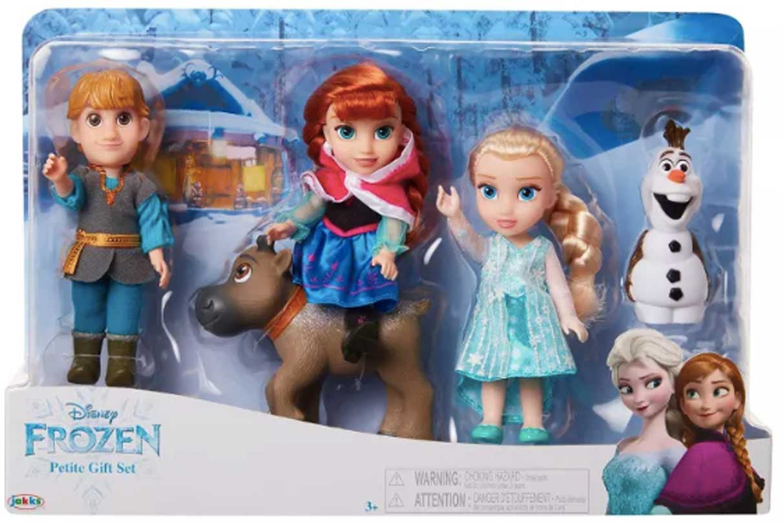disney frozen petite set stock image