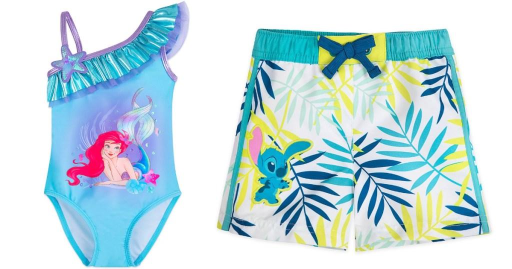 disney kids swimwear