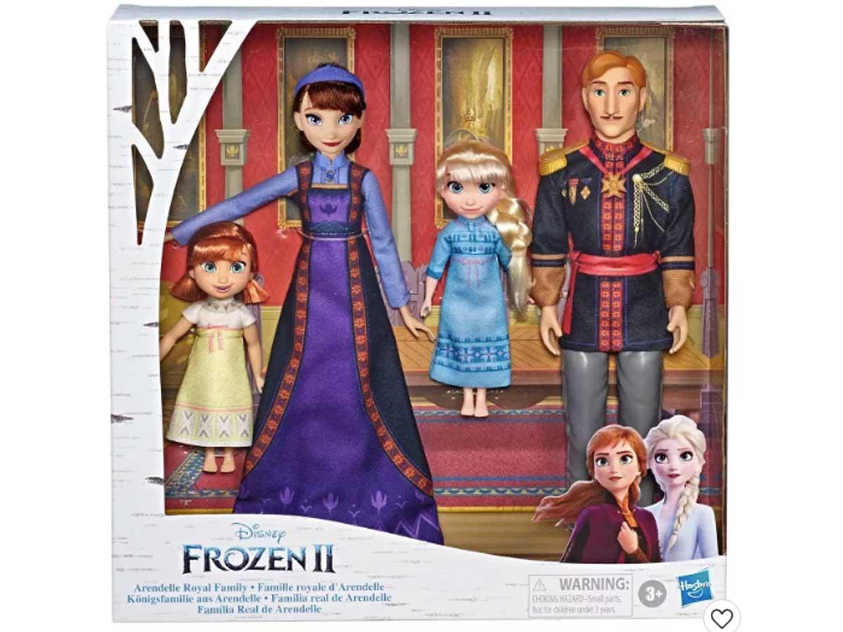 disney frozen royal family fashion set