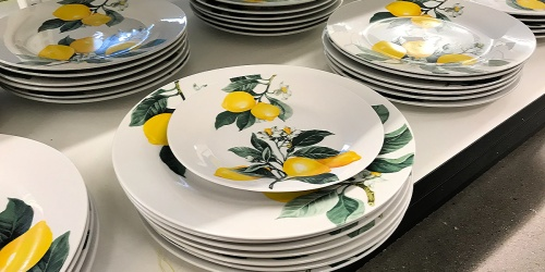 $1 Lemon Dinnerware Collection Now Available at Dollar Tree