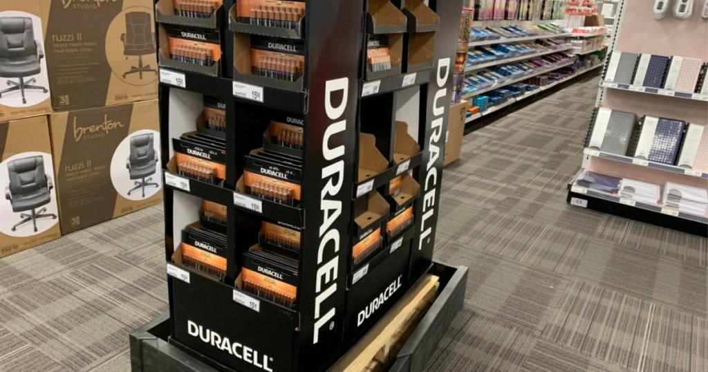 duracell batteries at office depot