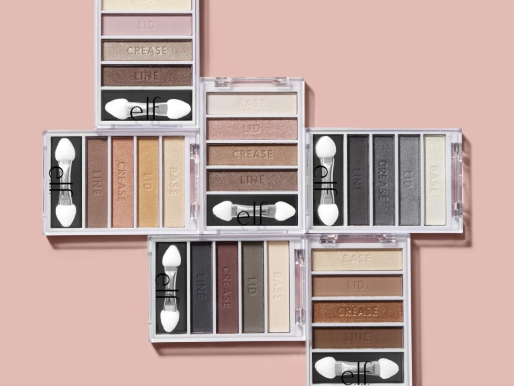 various color eyeshadow palettes