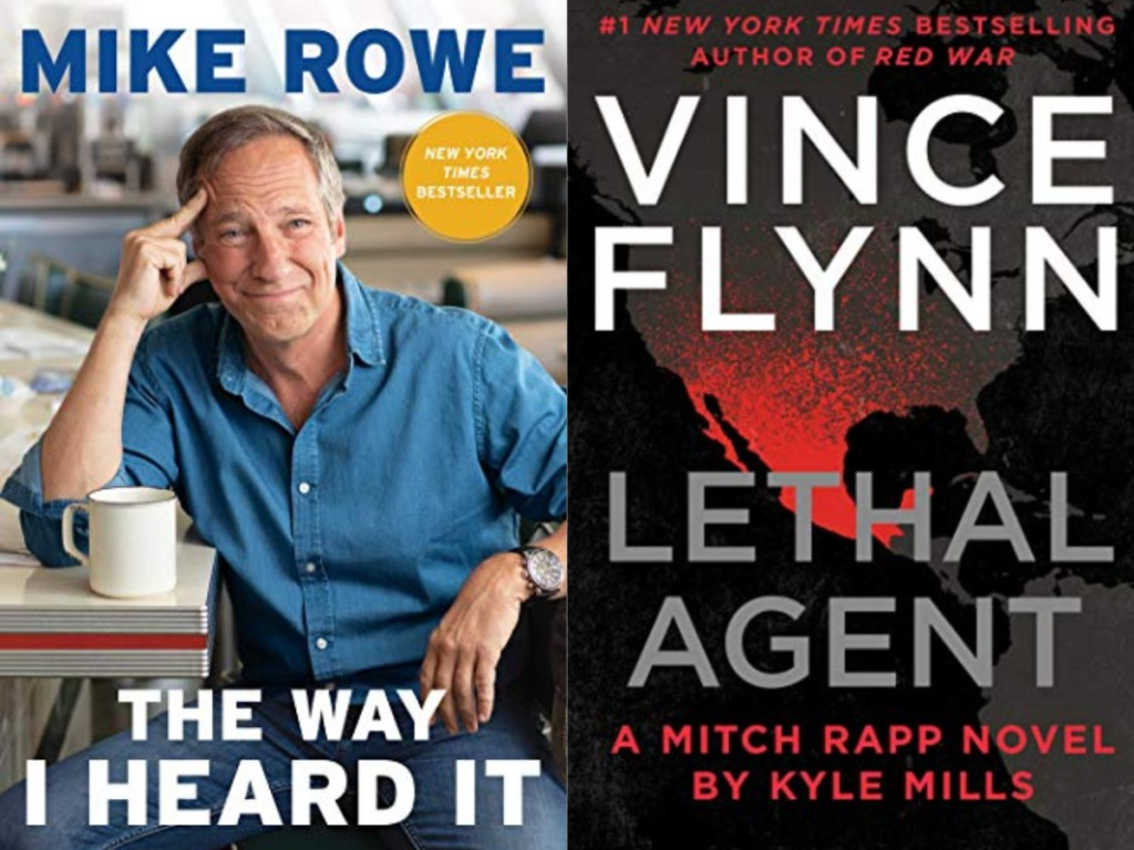 the way i heard it book and lethal agent book