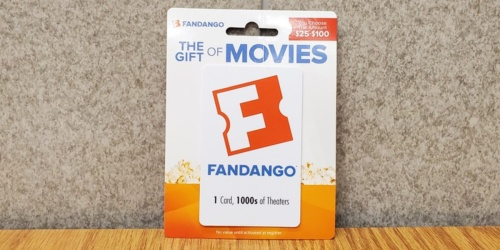 $25 Fandango Gift Card Just $20 | Save on Your Next Movie Night