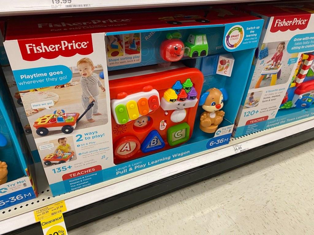 fisher Price Learning Wagon