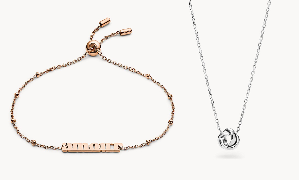 amour and pendant necklace
