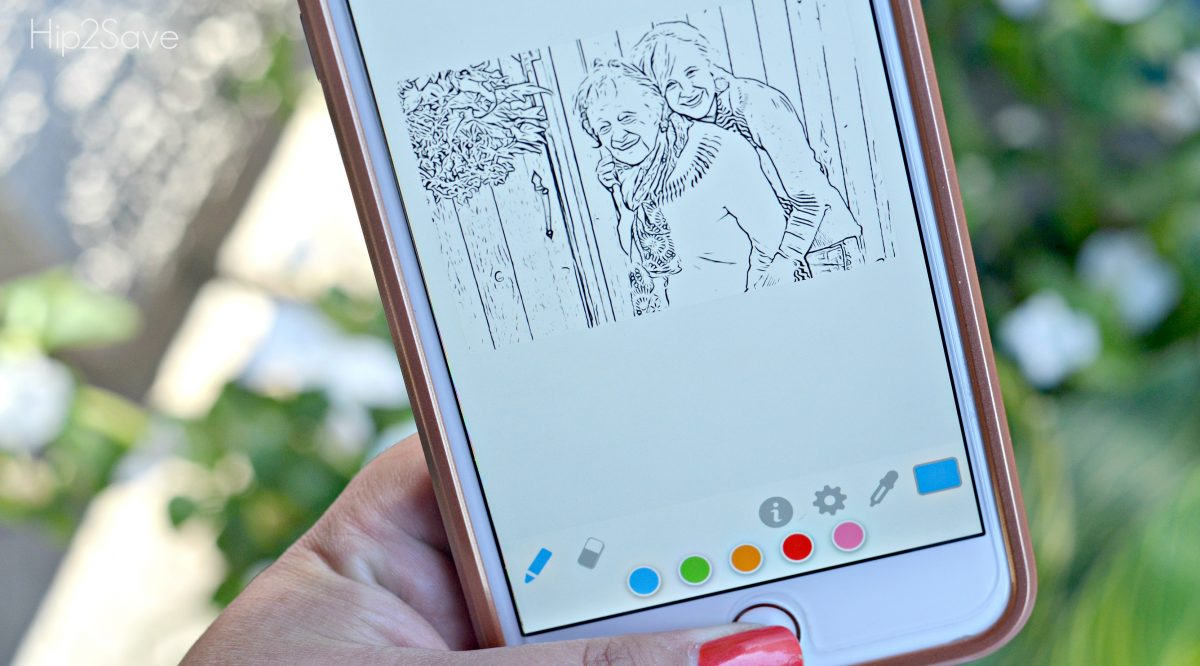 Turn Photos Into Coloring Pages With This Free App Hip2save