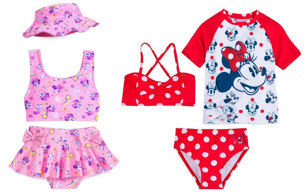 girls disney swimsuit sets