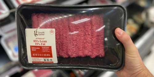 Rare 25% Off Ground Beef at Target