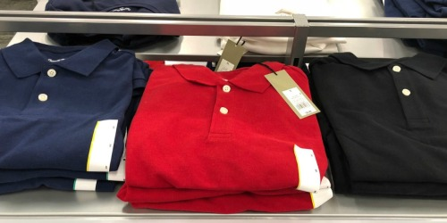 Men's Polo Tops from $6.99 at Target | Great Gift Idea