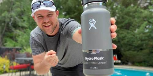 Hydro Flask Water Bottles From $19.65 on Nordstrom (Regularly $35) + Free $15 Promo Card w/ Store Pickup