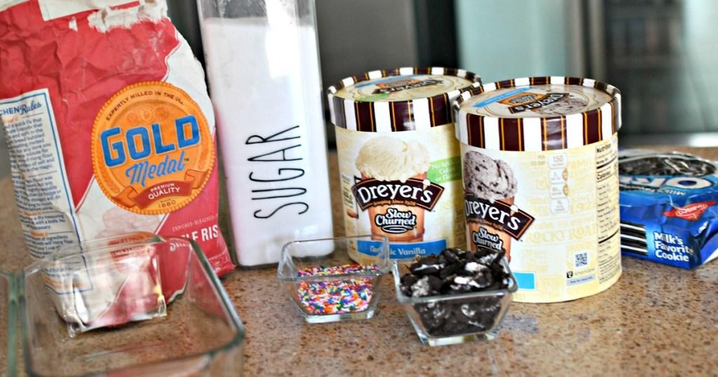 ice cream bread ingredients