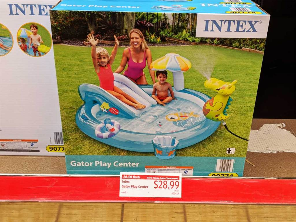 intex gator play center in store